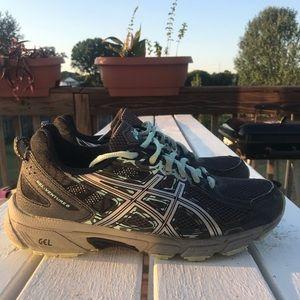 Asics Gel Venture 6 Trail Running Shoes Sz 7.5m